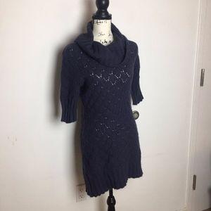 Cynthia Rowley knit cowl neck sweater